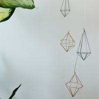 Geometric Garlands - hiasan gantung