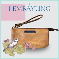 (ANNIVERSARY SALE)WALLET : LEMBAYUNG 2.0 ANTIQUE TAN WITH ANTIQUE BLUE