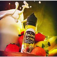 Liquid Bananalicious 3mg 6Mg liquid banana licious darkluna exo mangoo