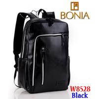 Tas Ransel Bag Impor Import Bonia W8528 8528 Hitam Black Semi Premium
