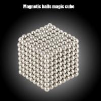 3mm 512Pcs Magnetic Balls 3D Puzzle Magnet Magic Cube Geometric Educat