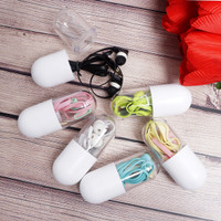 EARPHONE HEADSET PILL CASE / BEST SELLER