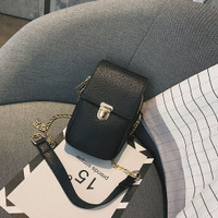 tas import hitam selempang kecil wanita sling bag batam murah 20253 PU