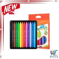Kode : SCHOOL EC20000 School Crayon/Krayon Plastic Crayon