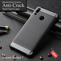 Anti Crack Soft Case Xiaomi Redmi 7 Softcase Silicon Casing Cover Gel