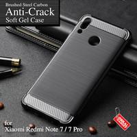 Anti Crack Soft Case Xiaomi Redmi Note 7 / Pro Softcase Casing Cover