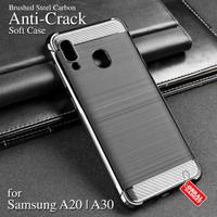 Anti Crack Soft Case Samsung A20 A30 Softcase Silikon Casing Cover Gel