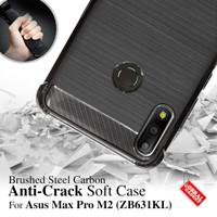 Anti Crack Soft Case Asus Max Pro M2 ZB631KL Softcase Casing Cover Gel