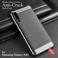 Anti Crack Soft Case Samsung A50 Softcase Silikon Silicon Casing Cover