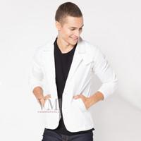 VM Blazer Putih Semijas Putih Polos