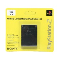 Memory Card for PlayStation 2 - Hitam [8 MB]