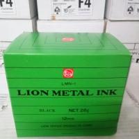 tinta lion metal ink