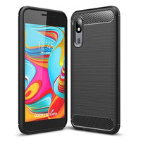 Case Samsung A2 Core Carbon TPU Softshell cover case ipaky A2 CORE