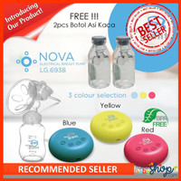 Pompa Asi Little Giant Nova Electrical Breast Pump FREE Botol Asi Kaca