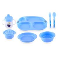 LustyBunny Tempat makan bayi Feeding Set Package 6 pcs NEW