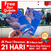 JAPAN RAIL PASS 21 HARI GREEN (DEWASA) | JR Pass Jepang