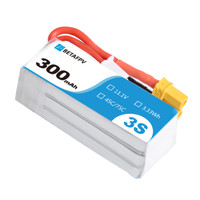 BetaFPV Lipo Battery 3S 300mAh 45C (1pc)