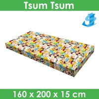 Rivest Sarung Kasur 160 x 200 x 15 - Tsum Tsum