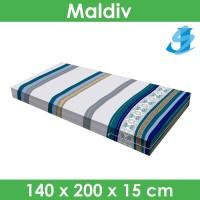 Rivest Sarung Kasur 140 x 200 x 15 - Maldiv