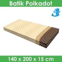 Rivest Sarung Kasur 140 x 200 x 15 - Batik Polkadot