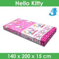 Rivest Sarung Kasur 140 x 200 x 15 - Hello Kitty