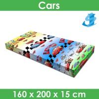 Rivest Sarung Kasur 160 x 200 x 15 - Cars