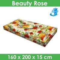 Rivest Sarung Kasur 160 x 200 x 15 - Beauty Rose