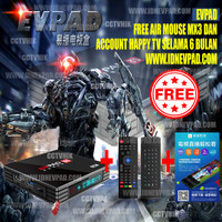 EVPAD 3s android TV BOX 6k IPTV BT4.2 USB3.0 WIFI 2.4G Dolb AC3 & DTS