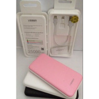 Powerbank VEGER V16 25000Mah Slim Original (black,blue toscha,white)