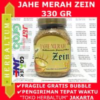 Jahe Merah ZEIN 330 gr Toples - Habbatussauda Ginseng Secang Gula dll