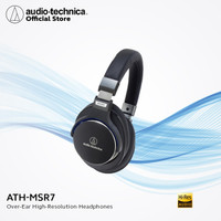 Audio-Technica ATH-MSR7 BK Over Ear HighResolution Headpones-BlueBlack