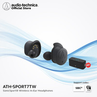 Audio Technica ATH-SPORT7TW SonicSport® True Wireless Free Speaker