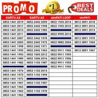 Nomor Cantik Seri Tahun Kartu Perdana Telkomsel Simpati/Loop/Kartu As