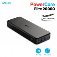 ANKER A1273 PowerCore Elite 20000mAh with 3 USB Port Output - 30W 6A