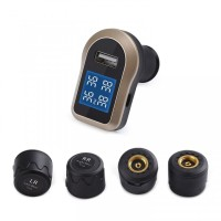 AUKEY TP-CO-001 - Tire Pressure Monitoring System Vehicle with Display