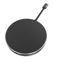 WIWU APOLLO A641WC - 5-in-1 USB-C Hub and Fast Charge Wireless Charger