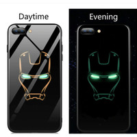 MARVEL AVENGERS Luminous Glow in The Dark Premium Glass Case