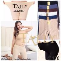 Celana Short Seamless TALLY C 178 Short Pants jumbo XXL . XXXL