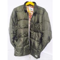 Kode 462* Jacket Quiksilver 100% Polyster lengan panjang dewasa pria