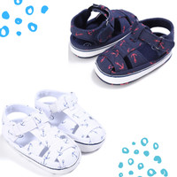 Sepatu Bayi / Sepatu Bayi Prewalker Anchor Point Sneakers Navy / White