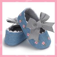 Sepatu Bayi / Sepatu Bayi Prewalker / Sepatu Bayi Perempuan Biru / Put