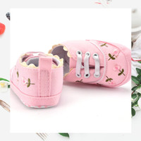 Sepatu Bayi / Sepatu Bayi Prewalker / Sepatu Bayi Perempuan Embroidery