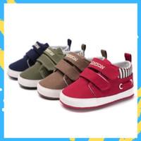 Sepatu Bayi / Sepatu Bayi Prewalker Red Army Brown Navy