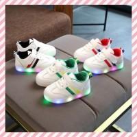 sepatu anak led adidass