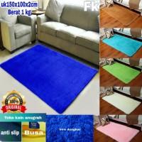 karpet bulu rasfur uk 150x100x2cm