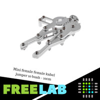 Manipulator Kit Mechanical Claw Robot Gripper untuk Servo MG995