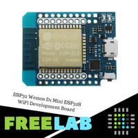 ESP32 Wemos D1 Mini WiFi Bluetooth v4 Dev Board + Pin Header