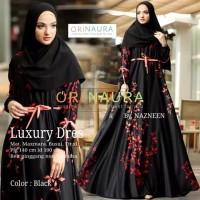 luxury black dress muslim