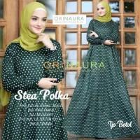 stea polka maxy dress