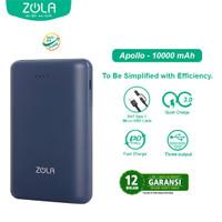 Zola Apollo Mini Size 10000mAh PD & QC 3.0 Quick Charging Power Bank